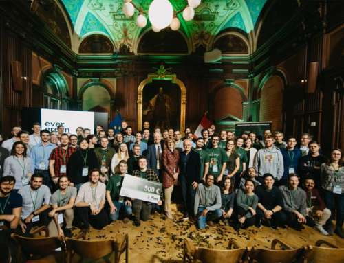 Die Gewinner des Evergreen Innovation Camp Hackathons 2019